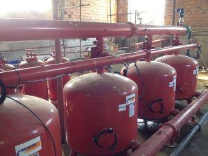 Капково напояване на лозя - с.Вардун, област Търговище