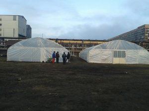 Тунелни оранжерии - гр.Видин