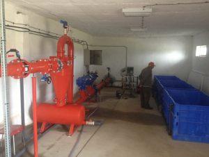хидроциклонен фитър - част от филтриращата система